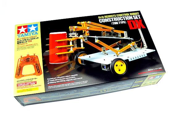 Tamiya Dynamic Model Educational 4ch Remote Control Robot Construction Set 70177