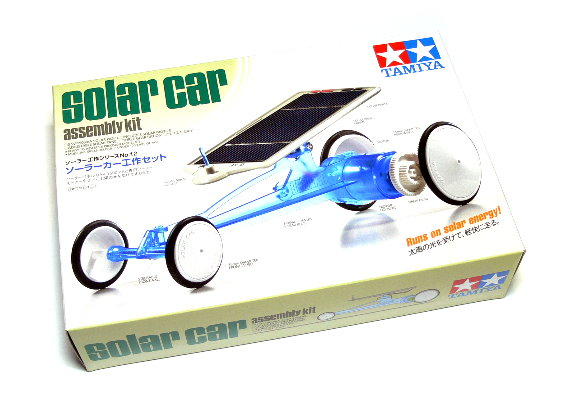 Tamiya Dynamic Model Educational Solar Car Kit 76012