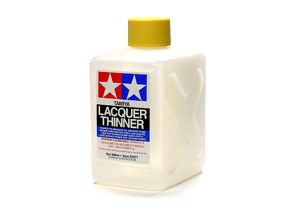 Tamiya Model Paints & Finishes Lacquer Thinner 250ml 87077