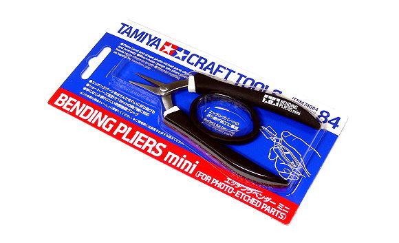 Tamiya Model Craft Tools Mini Bending Pliers for Photo-Etched Parts 74084