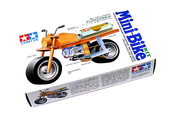Tamiya Dynamic Model Educational Mini Bike Kit 70095