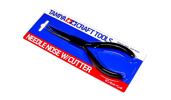 Tamiya Model Craft Tools Needle Nose with Cutter 74034