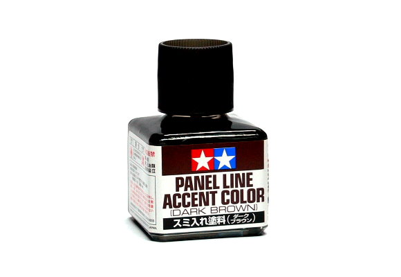 Tamiya Model Paints & Finishes Panel Line Accent Color Dark Brown 87140