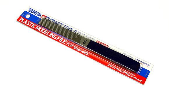 Tamiya Model Craft Tools Plastic Modeling File (Flat 16mm width) 74058