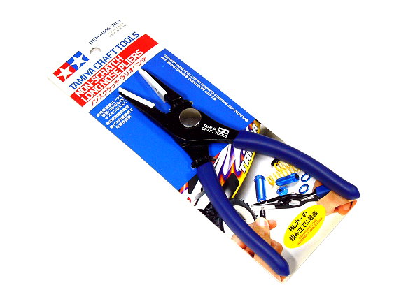 Tamiya Model Craft Tools Non Scratch Long Nose Pliers 74065
