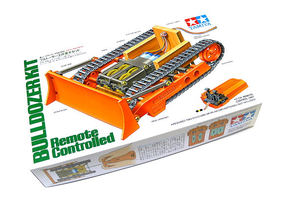 Tamiya Dynamic Model Educational Remote Controlled Bulldozer Kit 70104