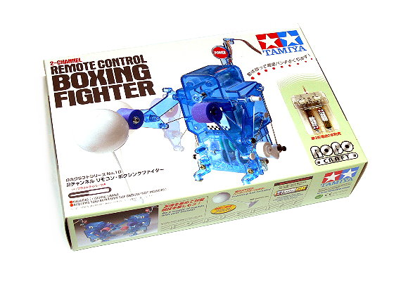 Tamiya ROBO Model Mechanical 2ch Remote Control Boxing Fighter 71110