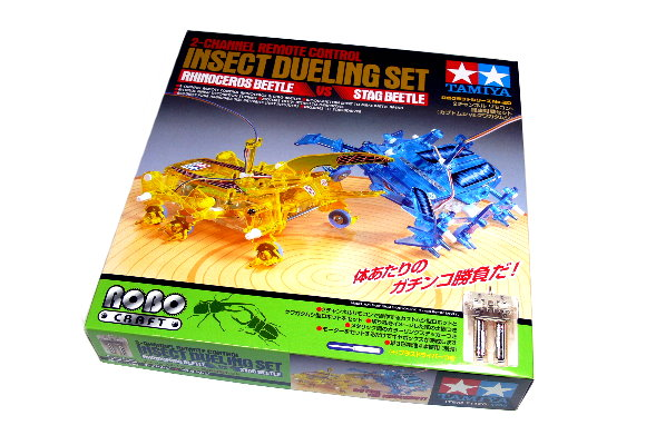Tamiya ROBO Model Mechanical 2ch Remote Control Insect Dueling Set 71120