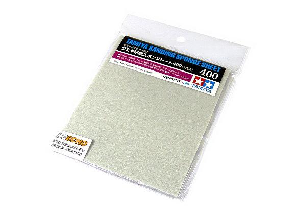 Tamiya Model Craft Tools Sanding Sponge Sheet 400 87147