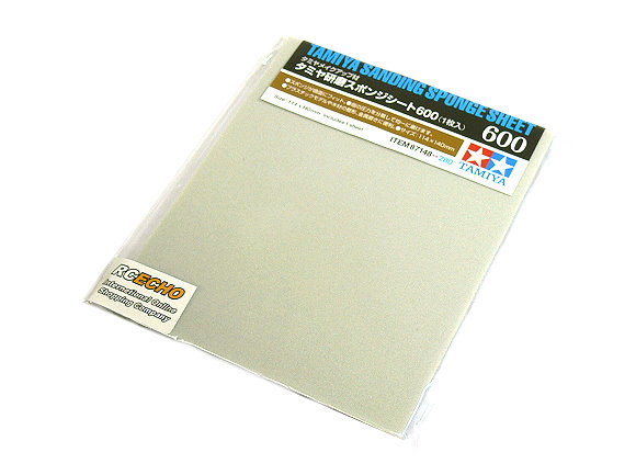 Tamiya Model Craft Tools Sanding Sponge Sheet 600 87148