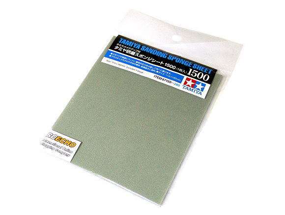 Tamiya Model Craft Tools Sanding Sponge Sheet 1500 87150
