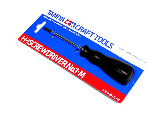 Tamiya Model Craft Tools Screwdriver No.1 M 74007