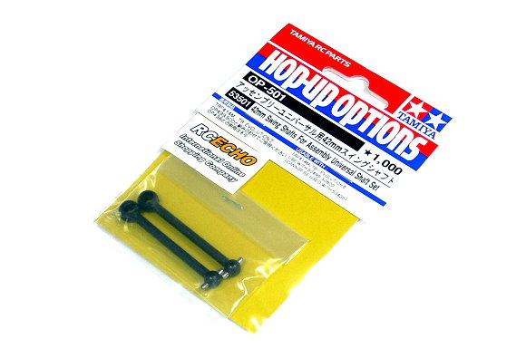 Tamiya Hop-Up Options 42mm Swing Shafts or Assembly Universal Shaft 53501 AA085