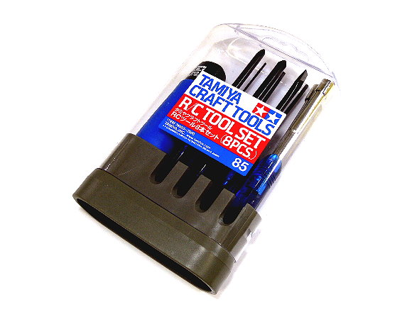 Tamiya Model Craft Tools R/C Tool Set (8pcs) 74085