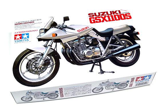 Tamiya Motorcycle Model 1/12 Motorbike SUZUKI GSX1100S KATANA Scale Hobby 14010