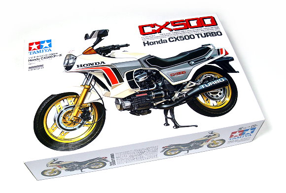 Tamiya Motorcycle Model 1/12 Motorbike Honda CX500 Turbo Scale Hobby 14016