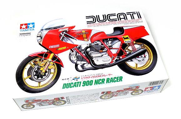 Tamiya Motorcycle Model 1/12 Motorbike DUCATI 900 NCR Racer Scale Hobby 14022