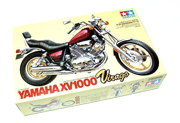 Tamiya Motorcycle Model 1/12 Motorbike YAMAHA XV1000 Virago Scale Hobby 14044