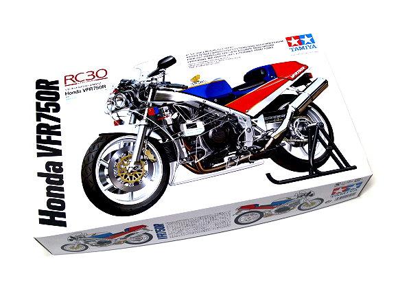 Tamiya Motorcycle Model 1/12 Motorbike Honda RC30 VFR750R Scale Hobby 14057