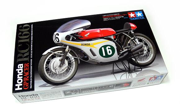 Tamiya Motorcycle Model 1/12 Motorbike Honda RC166 GP Racer Scale Hobby 14113