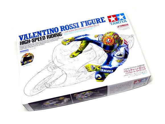 Tamiya Motorcycle Model 1/12 Motorbike Valentino Rossi Figure Scale Hobby 14118