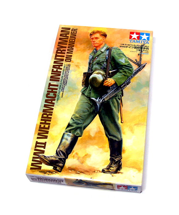 Tamiya Military Model 1/16 WW2 German Machine Gunner Figure Scale Hobby 36307