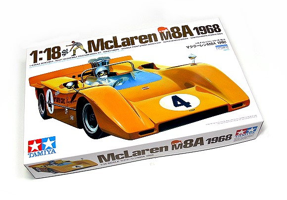 Tamiya Automotive Model 1/18 Car McLaren M8A 1968 Scale Hobby 10008