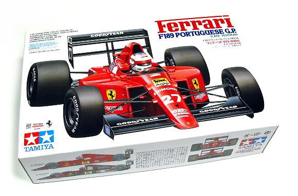 Tamiya Automotive Model 1/20 Car Ferrari F189 PORTUGUESE GP Scale Hobby 20024