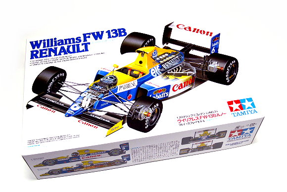 Tamiya Automotive Model 1/20 Car Williams FW-13B RENAULT Scale Hobby 20025