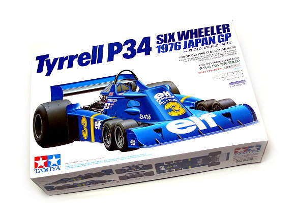 Tamiya Automotive Model 1/20 Car Tyrrell P34 Six Wheeler Scale Hobby 20058