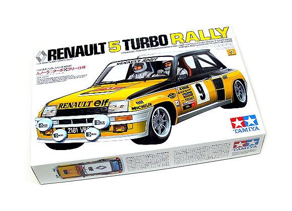 Tamiya Automotive Model 1/24 Car Renault 5 Turbo Rally Scale Hobby 24027