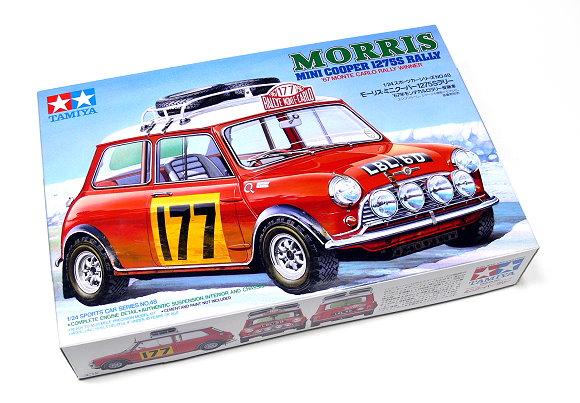 Tamiya Automotive Model 1/24 Car MORRIS Mini Cooper Rally Scale Hobby 24048