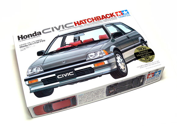 Tamiya Automotive Model 1/24 Car Honda Civic Hatchback Scale Hobby 24051