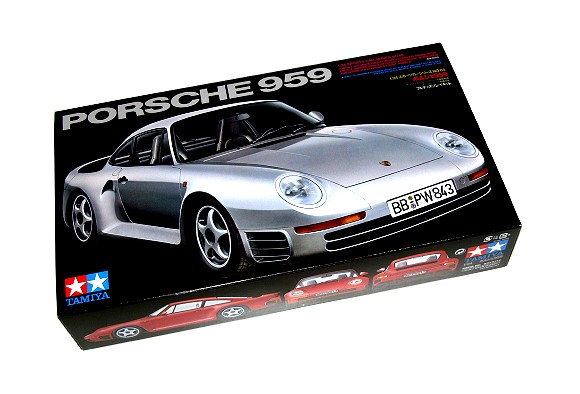 Tamiya Automotive Model 1/24 Car Porsche 959 Scale Hobby 24065
