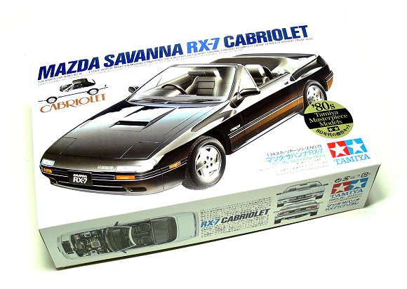 Tamiya Automotive Model 1/24 Car Mazda Savanna RX-7 Scale Hobby 24074
