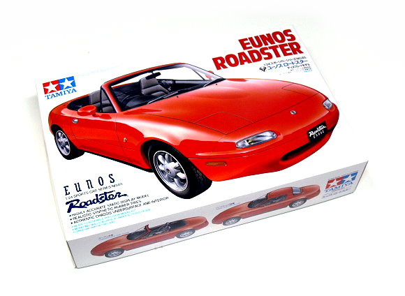 Tamiya Automotive Model 1/24 Car Mazda EUNOS Roadster Scale Hobby 24085