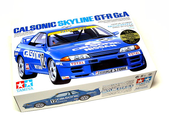 Tamiya Automotive Model 1/24 Car Nissan Calsonic Skyline Scale Hobby 24102