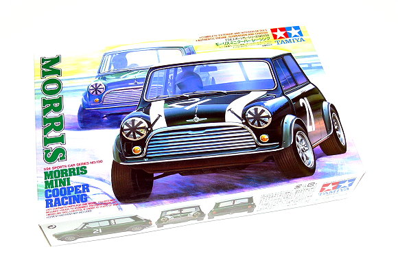 Tamiya Automotive Model 1/24 Car MORRIS Mini Cooper Rally Scale Hobby 24130