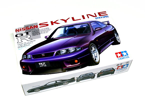 Tamiya Automotive Model 1/24 Car NISSAN SKYLINE GT-R V-sp Scale Hobby 24145