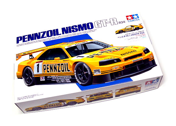 Tamiya Automotive Model 1/24 Car NISSAN Penzoil Nismo GTR Scale Hobby 24216