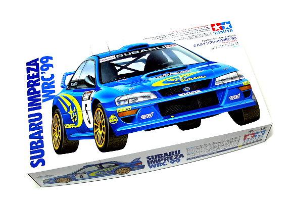 Tamiya Automotive Model 1/24 Car SUBARU Impreza WRC 99 Scale Hobby 24218