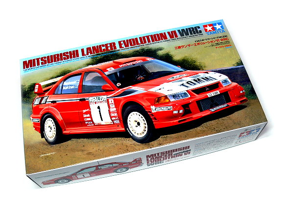 Tamiya Automotive Model 1/24 Car Mitsubishi Lancer EVO VI Scale Hobby 24220