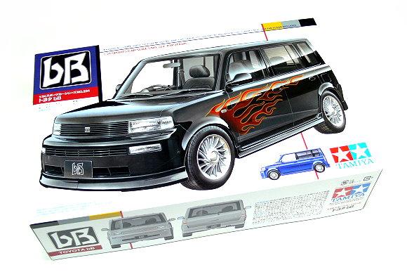 Tamiya Automotive Model 1/24 Car TOYOTA bB Scale Hobby 24224