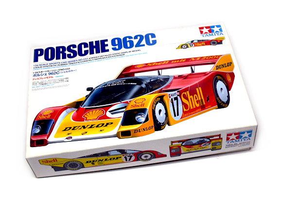 Tamiya Automotive Model 1/24 Car Porsche 962C Scale Hobby 24233