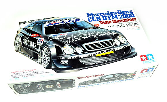Tamiya Automotive Model 1/24 Car Mercedes-Ben CLK DTM 2000 Scale Hobby 24239