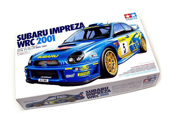 Tamiya Automotive Model 1/24 Car SUBARU Impreza WRC 2001 Scale Hobby 24240