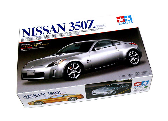 Tamiya Automotive Model 1/24 Car Nissan 350Z Track Scale Hobby 24254