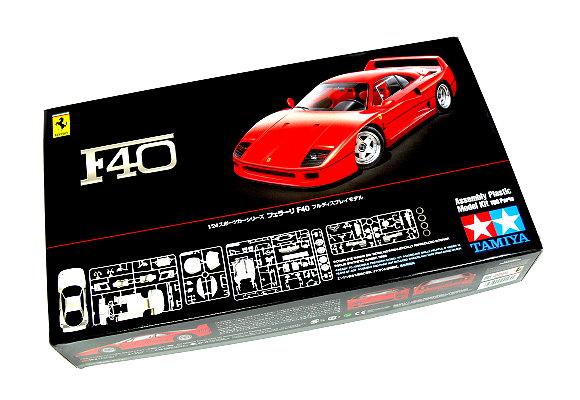 Tamiya Automotive Model 1/24 Car Ferrari F40 Scale Hobby 24295