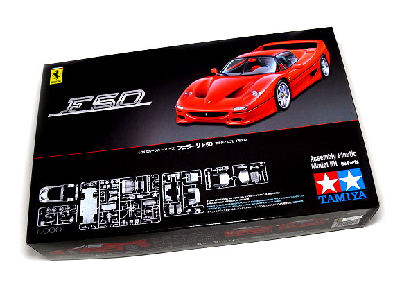 Tamiya Automotive Model 1/24 Car Ferrari F50 Scale Hobby 24296