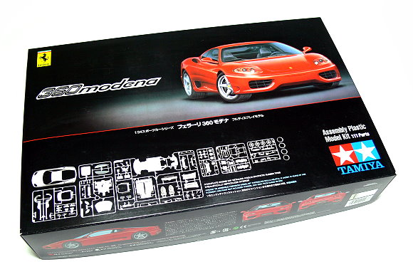 Tamiya Automotive Model 1/24 Car Ferrari 360 Modena Scale Hobby 24298